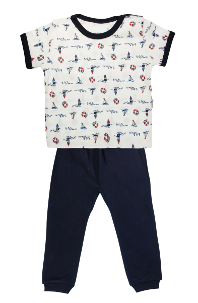 bavlnene-pyzamko-mamatti-majak-kratky-rukav-granatove-vel-98-98-24-36m