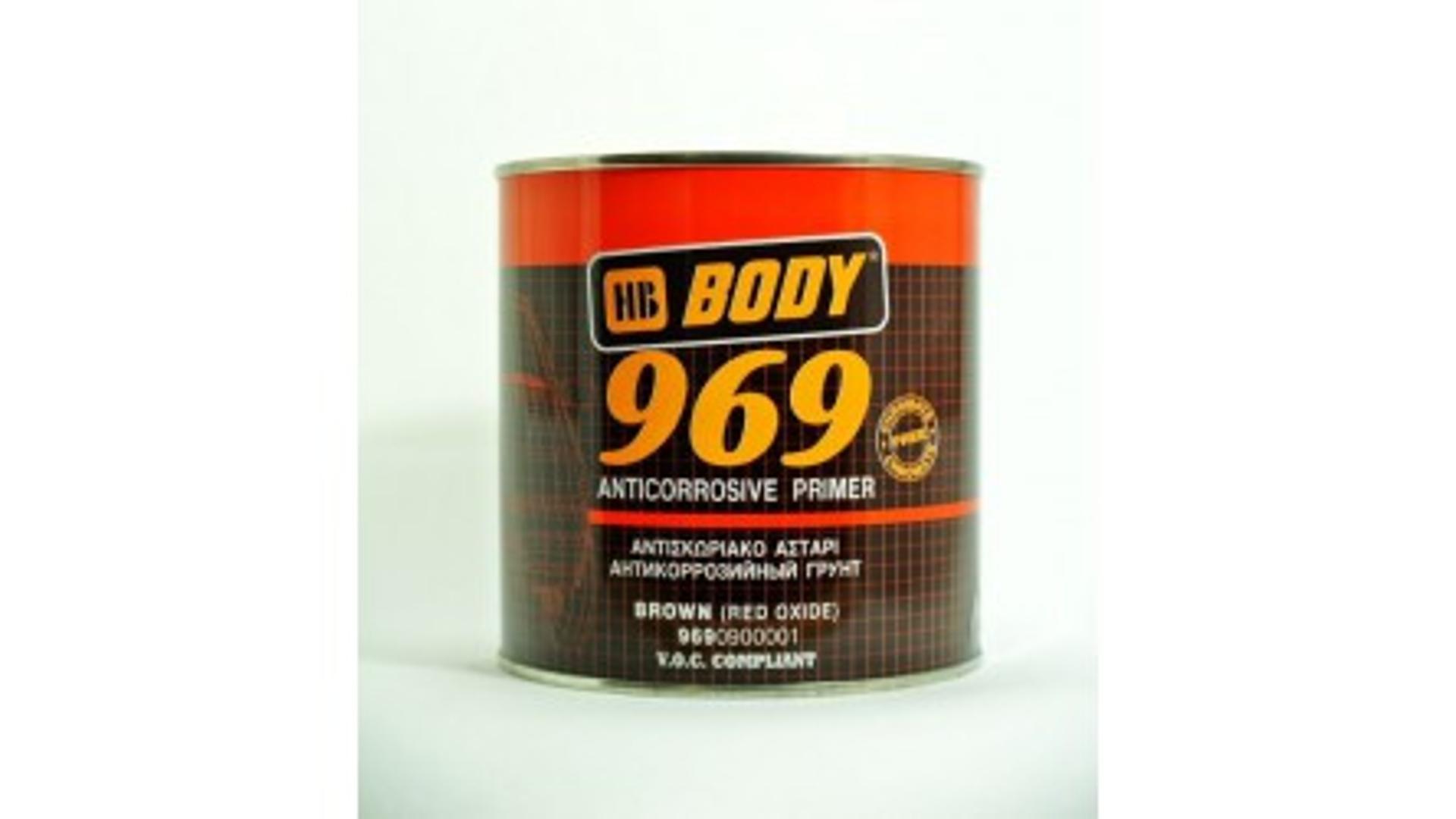 HB BODY 969 1k antikorozní základ hnědý 1KG