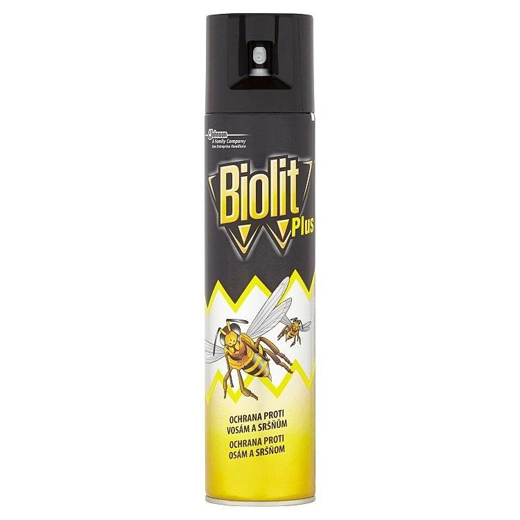Biolit Plus Ochrana proti vosám a sršňům 400 ml