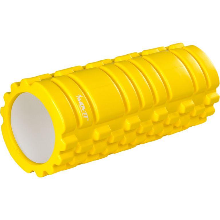 Posilovací masírovací válec - FITNESS ROLLER MOVIT žlutá
