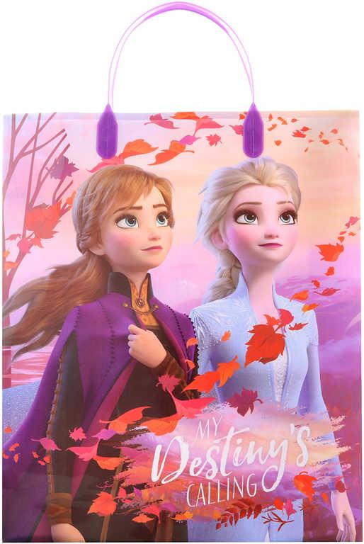 Taška dárková Frozen 2 (Ledové Království) 27x32x10cm plast