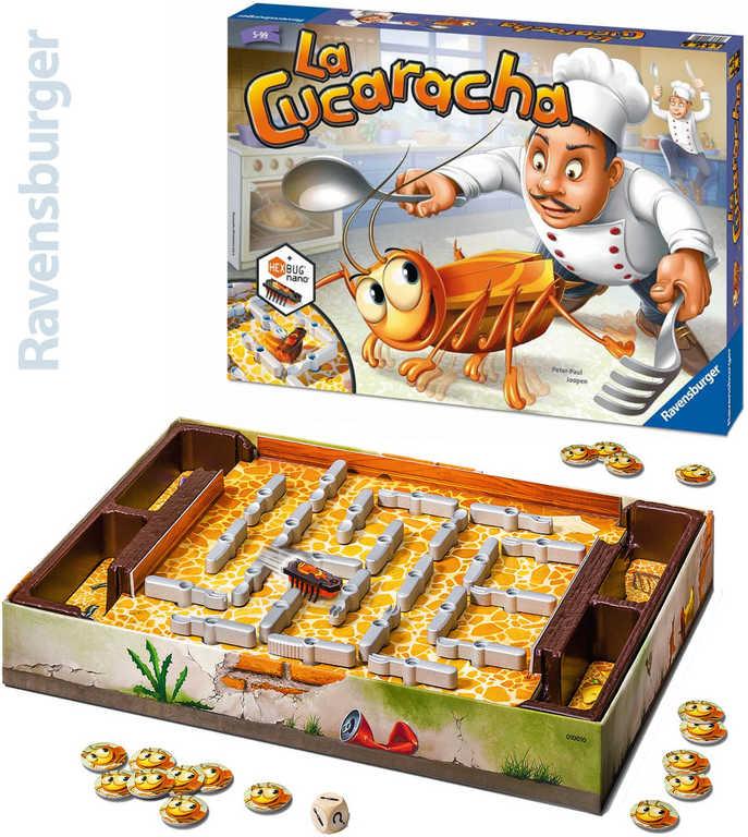 RAVENSBURGER Hra Cucaracha chytání švábů *SPOLEČENSKÉ HRY*