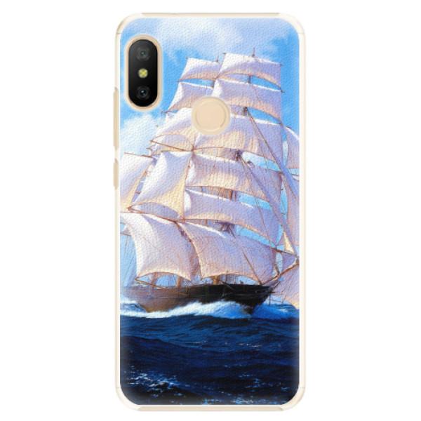 Plastové pouzdro iSaprio - Sailing Boat - Xiaomi Mi A2 Lite