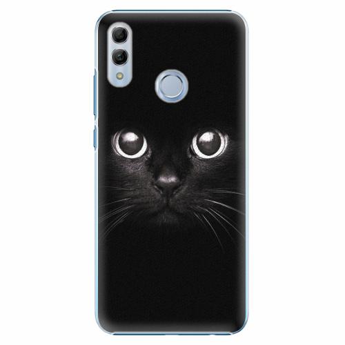 Plastový kryt iSaprio - Black Cat - Huawei Honor 10 Lite