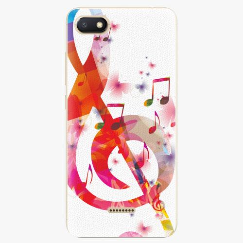 Plastový kryt iSaprio - Love Music - Xiaomi Redmi 6A