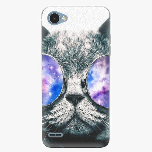 Plastový kryt iSaprio - Galaxy Cat - LG Q6