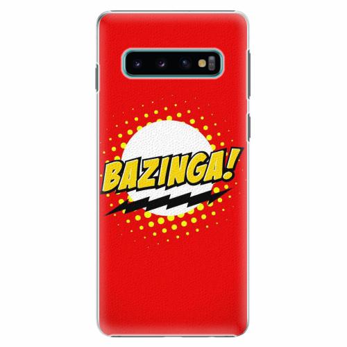 Plastový kryt iSaprio - Bazinga 01 - Samsung Galaxy S10