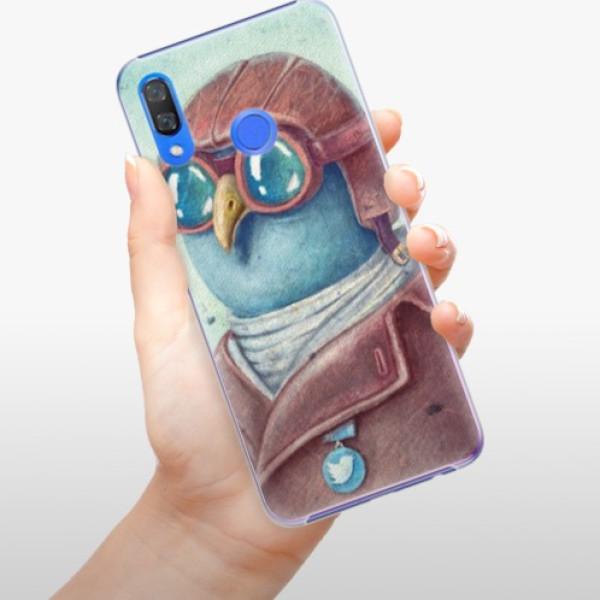 Plastové pouzdro iSaprio - Pilot twitter - Huawei Y9 2019