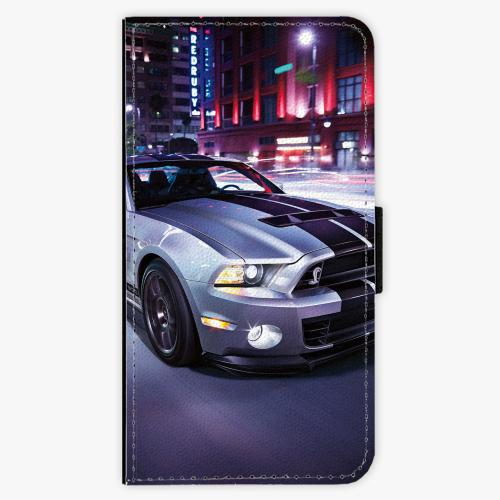 Flipové pouzdro iSaprio - Mustang - Samsung Galaxy J3 2017