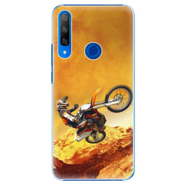 Plastové pouzdro iSaprio - Motocross - Huawei Honor 9X