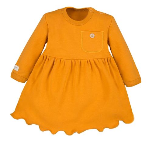 EEVI Dívčí tunika/šaty s kapsičkou