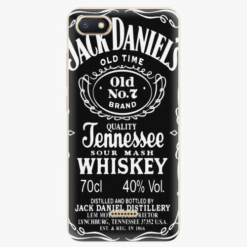 Plastový kryt iSaprio - Jack Daniels - Xiaomi Redmi 6A
