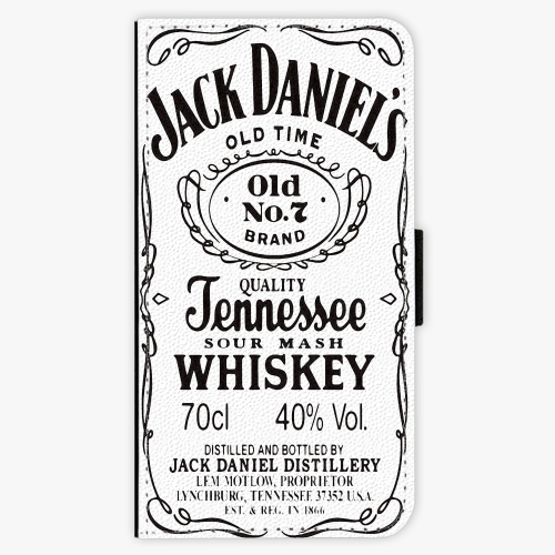 Flipové pouzdro iSaprio - Jack White - Samsung Galaxy J7 2017