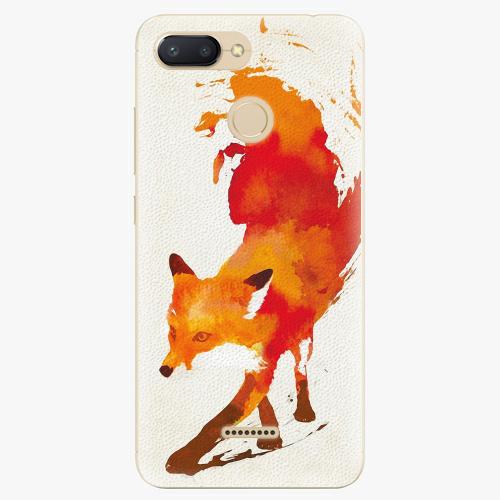 Silikonové pouzdro iSaprio - Fast Fox - Xiaomi Redmi 6
