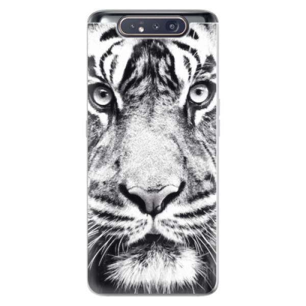 Odolné silikonové pouzdro iSaprio - Tiger Face - Samsung Galaxy A80