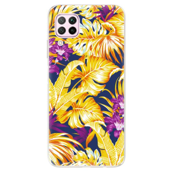 Odolné silikonové pouzdro iSaprio - Tropical Orange 04 - Huawei P40 Lite