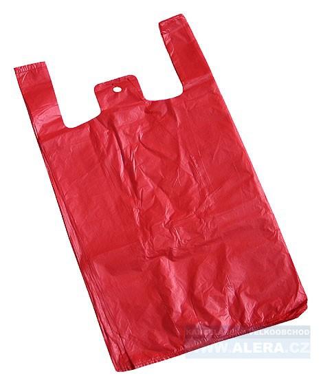 Taška nákupní velká igelitová (sáček 15kg) mix barev