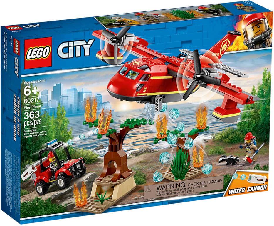 LEGO CITY Požární letoun 60217 STAVEBNICE