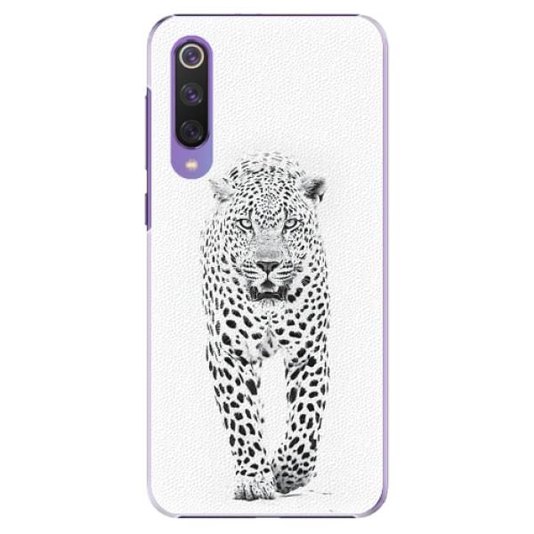 Plastové pouzdro iSaprio - White Jaguar - Xiaomi Mi 9 SE
