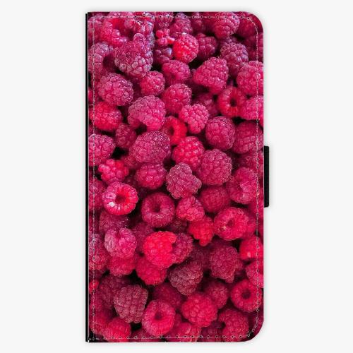 Flipové pouzdro iSaprio - Raspberry - Samsung Galaxy J7 2016