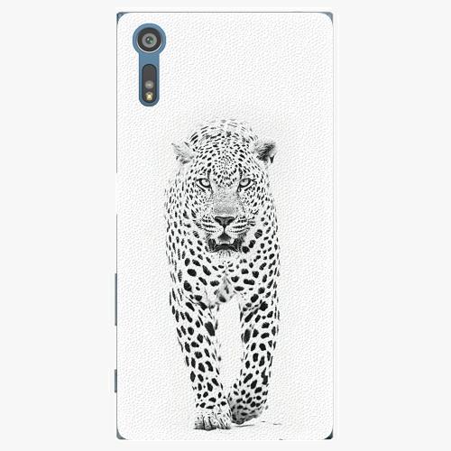 Plastový kryt iSaprio - White Jaguar - Sony Xperia XZ