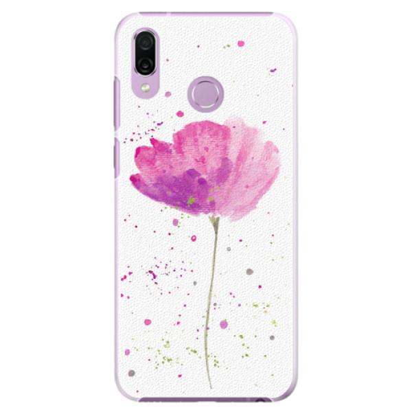 Plastové pouzdro iSaprio - Poppies - Huawei Honor Play