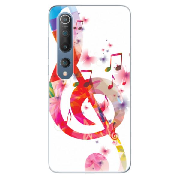 Odolné silikonové pouzdro iSaprio - Love Music - Xiaomi Mi 10 / Mi 10 Pro