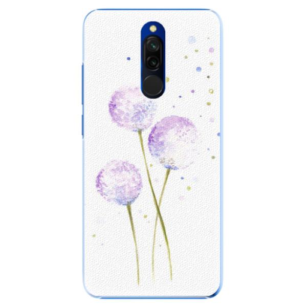 Plastové pouzdro iSaprio - Dandelion - Xiaomi Redmi 8