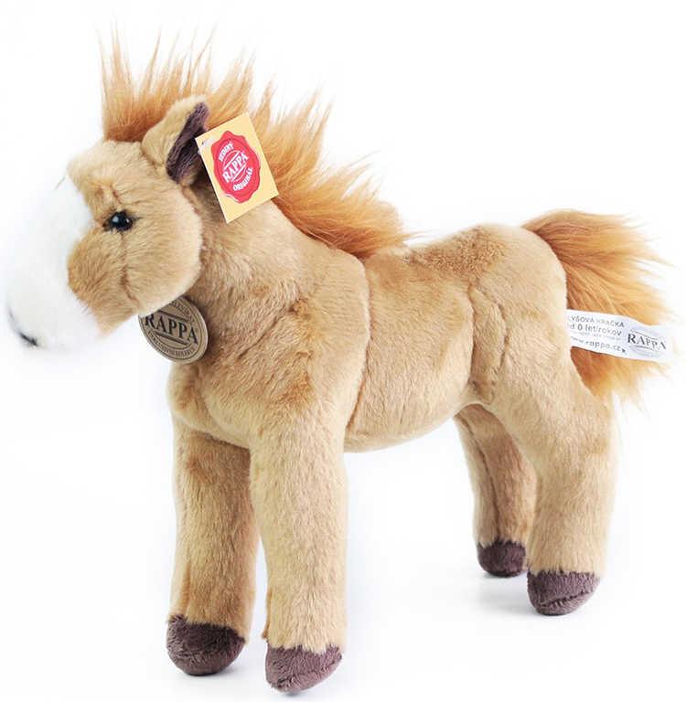 PLYŠ Kůň světle hnědý 30 cm exkluzivní kolekce