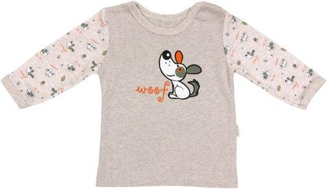 Bavlněné tričko Pet´s - dlouhý