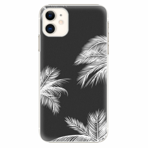 Plastový kryt iSaprio - White Palm - iPhone 11
