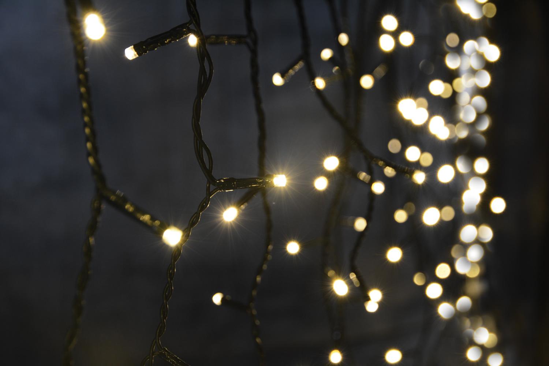 Lyyt 240ILT-WW, světelná LED záclona s časovačem, teplá bílá