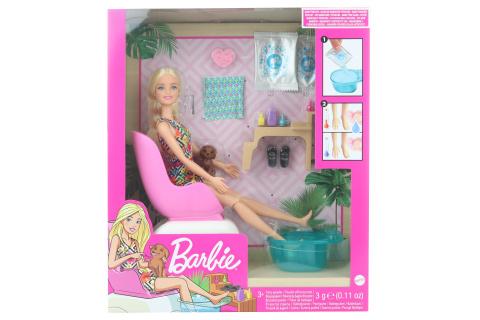 Barbie Manikúra/pedikúra herní set GHN07