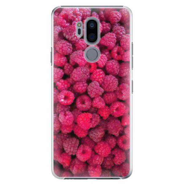Plastové pouzdro iSaprio - Raspberry - LG G7