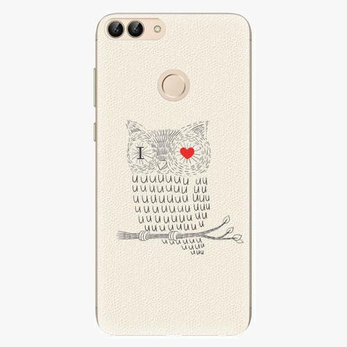 Silikonové pouzdro iSaprio - I Love You 01 - Huawei P Smart