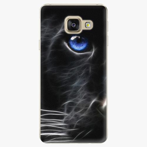 Plastový kryt iSaprio - Black Puma - Samsung Galaxy A3 2016