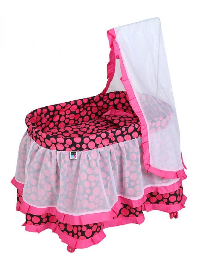 Košík pro panenky PlayTo Nikolka
