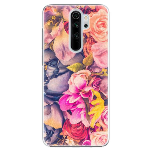 Plastové pouzdro iSaprio - Beauty Flowers - Xiaomi Redmi Note 8 Pro