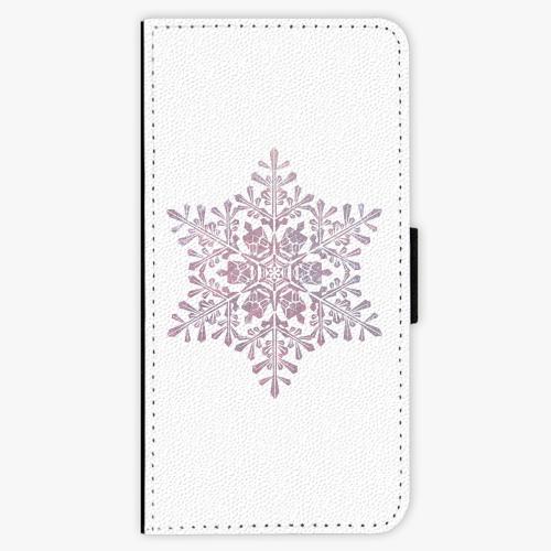 Flipové pouzdro iSaprio - Snow Flake - iPhone 7 Plus