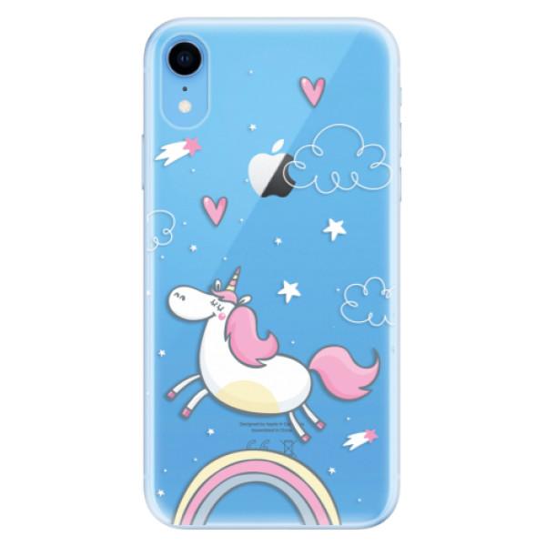 Odolné silikonové pouzdro iSaprio - Unicorn 01 - iPhone XR