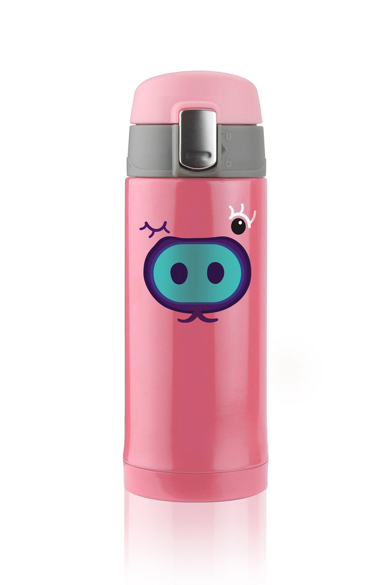 Dětská růžová termoska 200ml