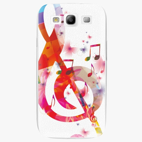 Plastový kryt iSaprio - Love Music - Samsung Galaxy S3