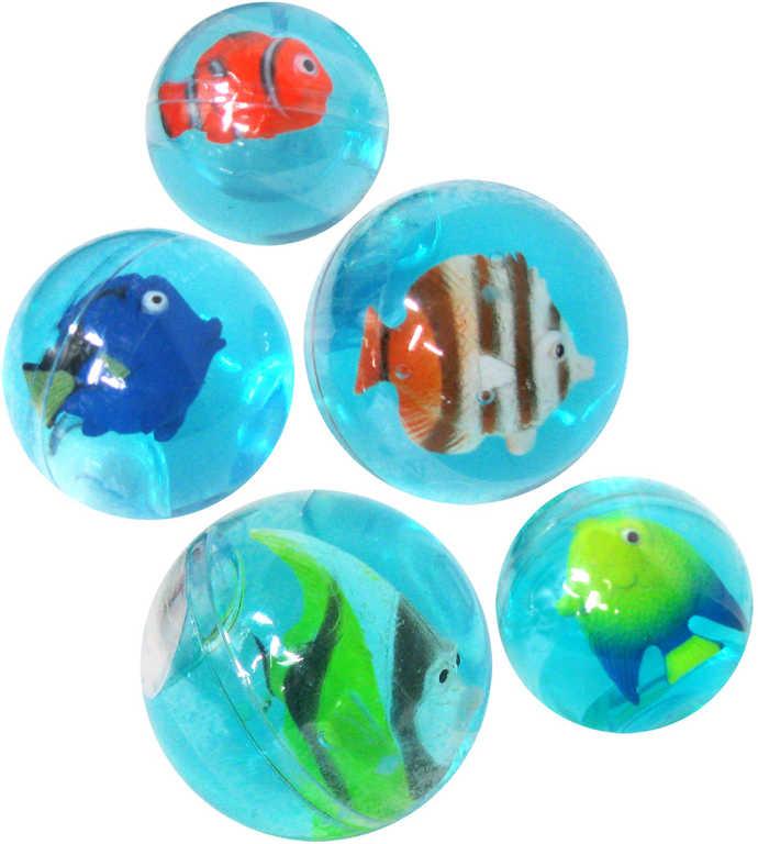 Hmota tvarovací koule 4cm rybička 5 druhů