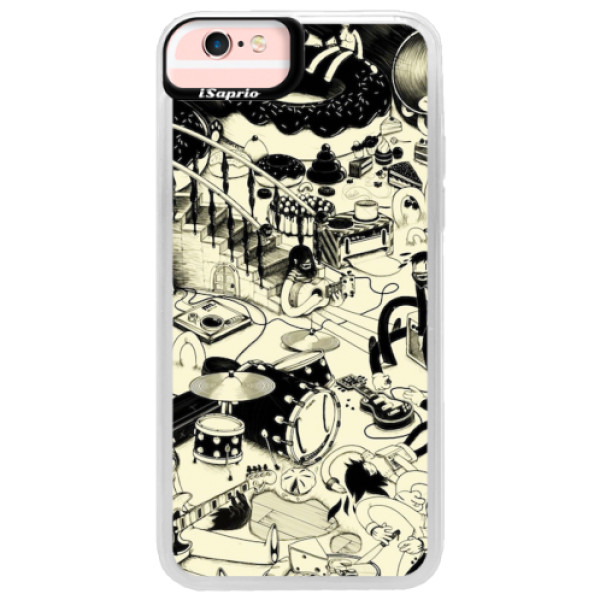 Neonové pouzdro Pink iSaprio - Underground - iPhone 6/6S