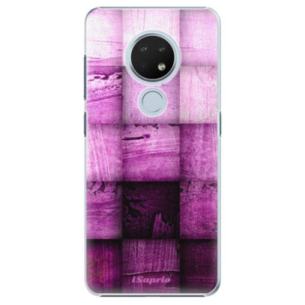 Plastové pouzdro iSaprio - Purple Squares - Nokia 6.2