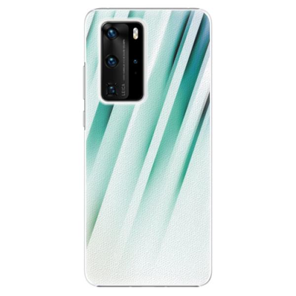 Plastové pouzdro iSaprio - Stripes of Glass - Huawei P40 Pro