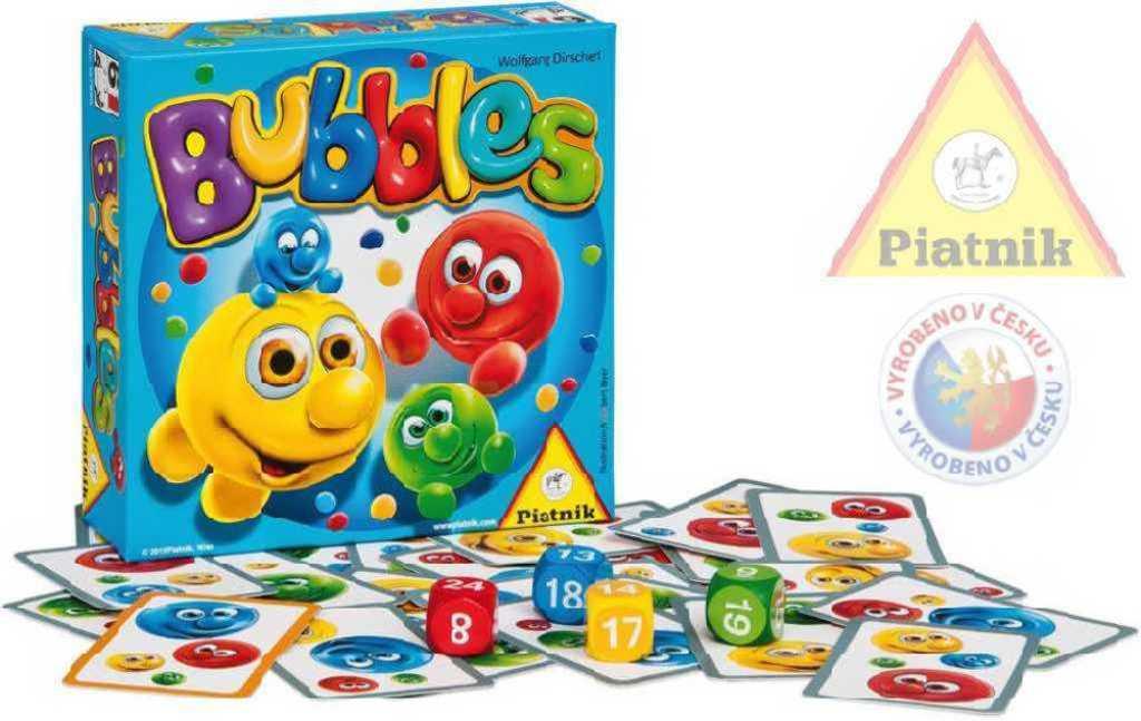 PIATNIK Hra Bubbles *SPOLEČENSKÉ HRY*