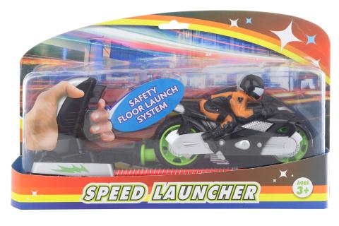Motorka vystřelovací