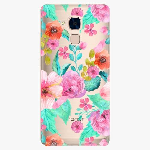 Plastový kryt iSaprio - Flower Pattern 01 - Huawei Honor 7 Lite
