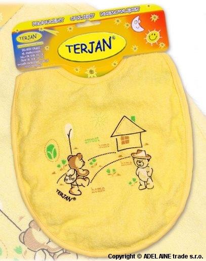 BryndáčTerjan velký - žlutý/krémový